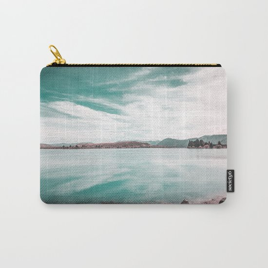 Green Lake #reflections Carry-All Pouch