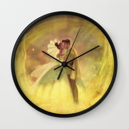 You Just Kissed Yourself a Princess Wall Clock