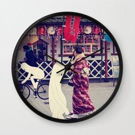 w a l k i n g i n t o k y o Wall Clock