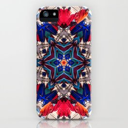 Maasai Warrior Series 4 iPhone Case