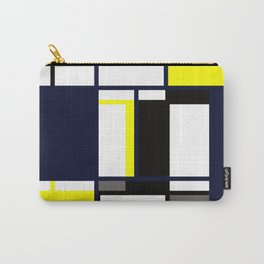 Strict geometry. Carry-All Pouch