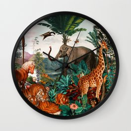 Beautiful Forest II Wall Clock