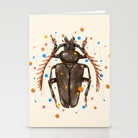 insect Stationery Cards featuring INSECT VIII by dogooder