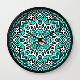 Oriental Kaleido 5 Wall Clock