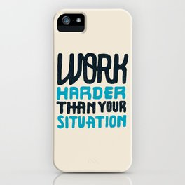 Situation iPhone Case
