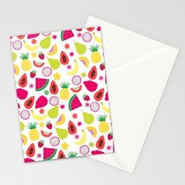 Tutti Frutti Summer Fruit Pattern Stationery Cards
