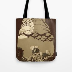Woodland wars Tote Bag