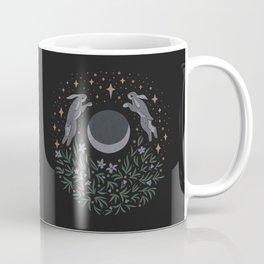Hares and the Moon Coffee Mug