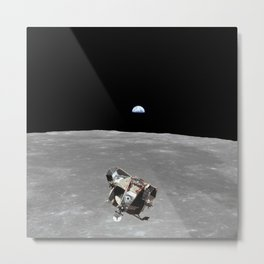 Nasa Picture 2: Apollo 11 the lunar module Metal Print