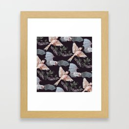 Release the Bats Framed Art Print