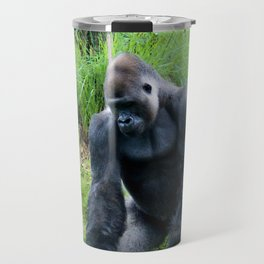Standing Gorilla Travel Mug
