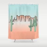 arizona Shower Curtains featuring Arizona by Mrs. Ciccoricco