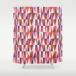 a harlequin party in pink! Shower Curtain