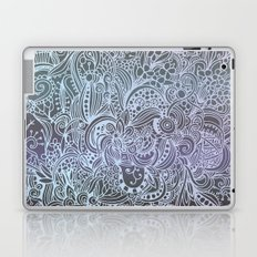 Detailed square, grey'n wedgwood Laptop & iPad Skin
