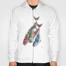 INKYFISH - Fish friends Hoody