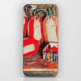 Buoy Painting Workbench iPhone Skin