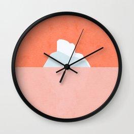 GROENLAND - PINK Wall Clock