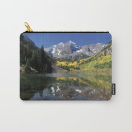 Maroon Bells in Aspen, Colorado Carry-All Pouch