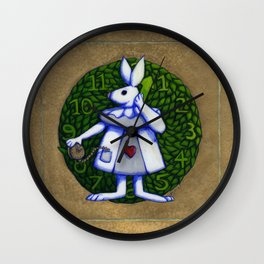 White Rabbit (Alice In Wonderland) Wall Clock