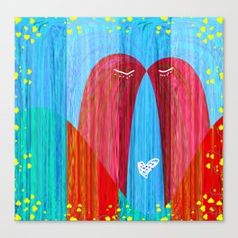 Pure and Simple Love Canvas Print