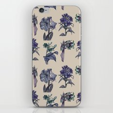 Botanical Florals | Vintage Blueberry iPhone Skin