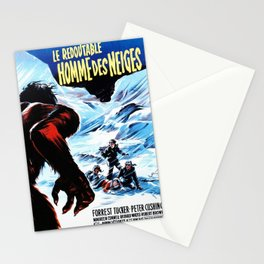 The Abominable Snowman of the Himalayas Stationery Cards