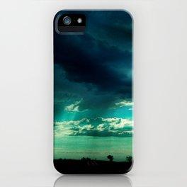 Morning Storm-Iowa iPhone Case
