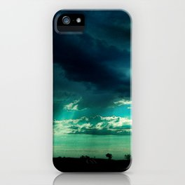 Morning Storm-Iowa iPhone Case