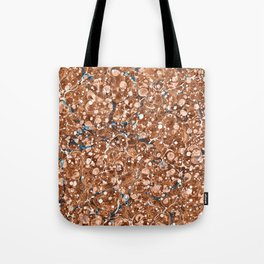 Vintage Marbled Texture - Organic Overdose Tote Bag