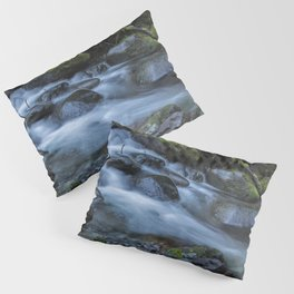 Water, Moss and Rocks Pillow Sham