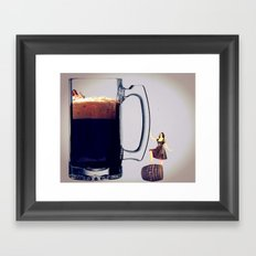 MixMotion: Beer and Cider Framed Art Print