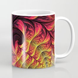Fire Fractal Deep Life Coffee Mug