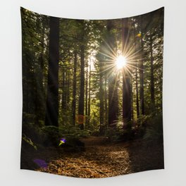 Redwood Forest Wall Tapestry