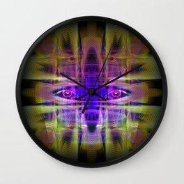 Electric Goddess Wall Clock
