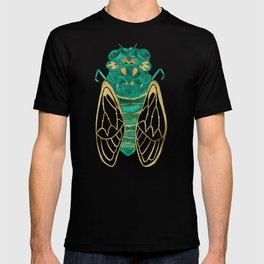 Cicada – Green & Gold T-shirt