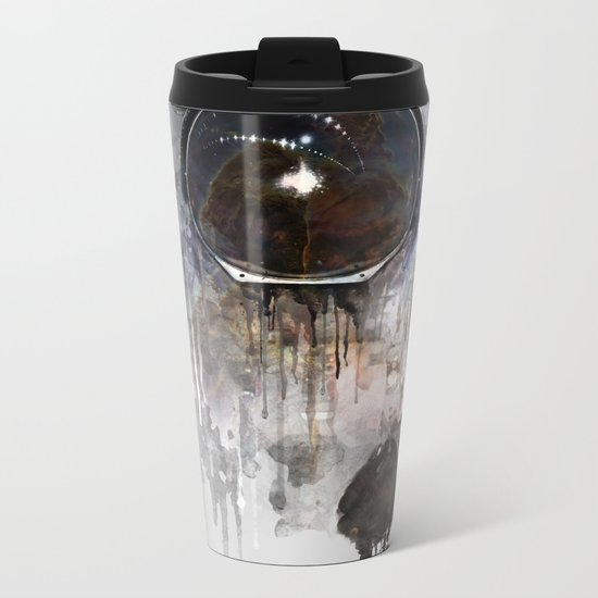 Astronaut Metal Travel Mug