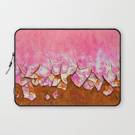 Pink and Rust Laptop Sleeve