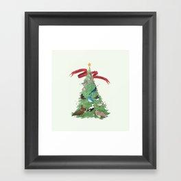 The Twelve Birds of Christmas Framed Art Print