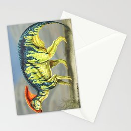 Parasaurolophus Reconstruction Stationery Cards