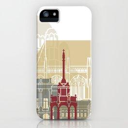 Liege skyline poster iPhone Case