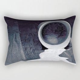 Don't cry over spilled milk Rectangular Pillow