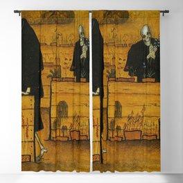 THE GARDEN OF DEATH - HUGO SIMBERG Blackout Curtain