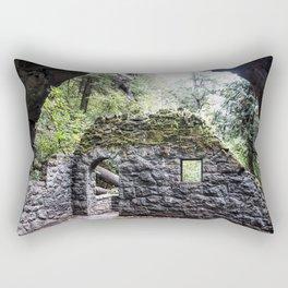 Forest House Rectangular Pillow