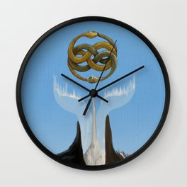 No Boundaries Wall Clock