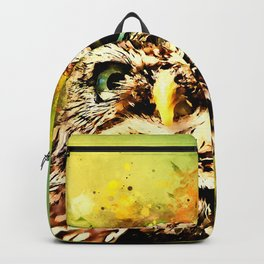owl portrait 5 wsstd Backpack