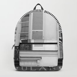 Paris in Black and White, La Boulangerie Backpack