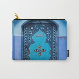 Blue Door in Chefchaouen, Morocco Carry-All Pouch