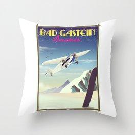 Bad Gastein Austria Throw Pillow