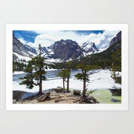 Lake Escape Art Print