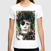 david bowie T-shirts featuring BOWIE by Vonis